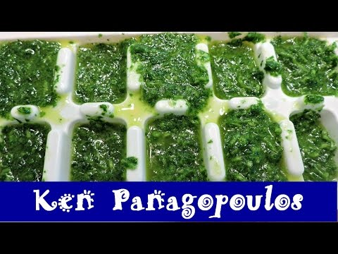 How To Freeze Fresh Herbs | Preserving Herbs (Frozen Flavour Bombs)
