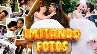 IMITANDO FOTOS de CAMILO Y EVALUNA con YOLO ¿NOS CASAMOS DE VERDAD?