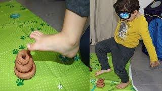 hamza and Sami play together, funny videos for kids; kids boys
