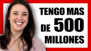 IRENE MONTERO y sus 525 MILLONES € del MINISTERO de IGUALDAD