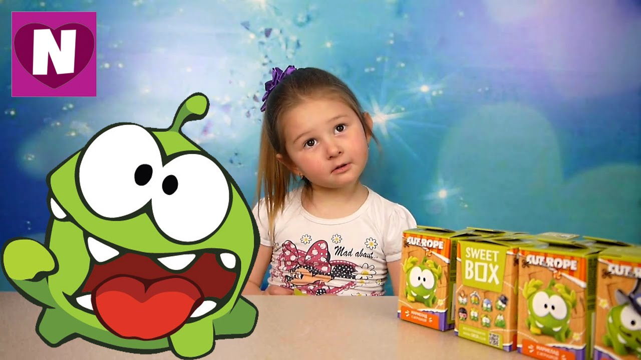Свит Бокс АМ НЯМ распаковка Sweet Box OM NOM unboxing ...