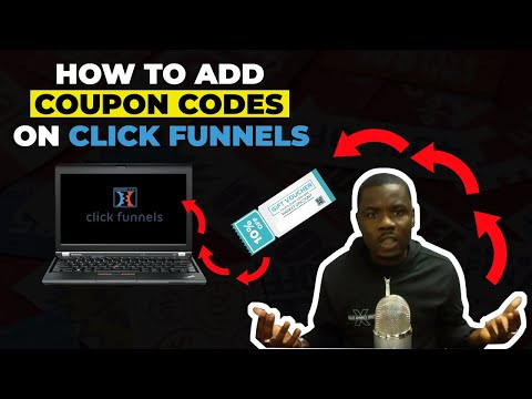 HOW TO ADD PROMO CODES TO YOUR FUNNEL [ Clickfunnels]