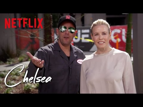 Chelsea | Adam Sandler Gets Chelsea Ready For Season 2 | Netflix