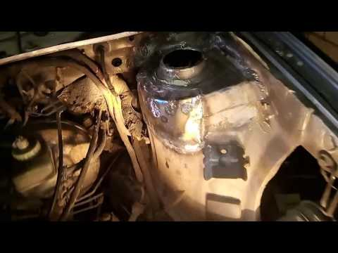 ремонт переднего стакана Wv Passat B3