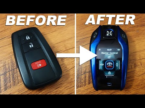 Upgrade your Car Key to a SMART KEY LCD Fob (FitCamX Remote Key Review)