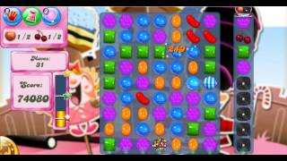 Candy Crush Saga Level 383 - 3 Stars - No Boosters Used