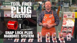 Diablo Hole Saw with SnapLock Plus Mandrel System - The Home Depot