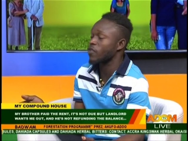 Badwam My Compound House on Adom TV (14-8-18)