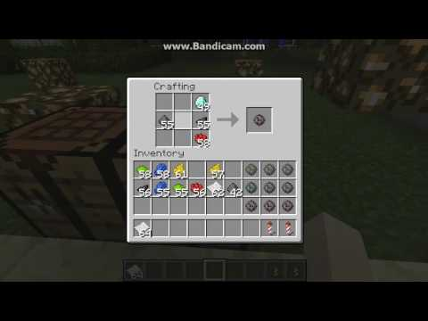 Minecraft♥How To Make Beautiful Fireworks Rocket♥♪ - YouTube