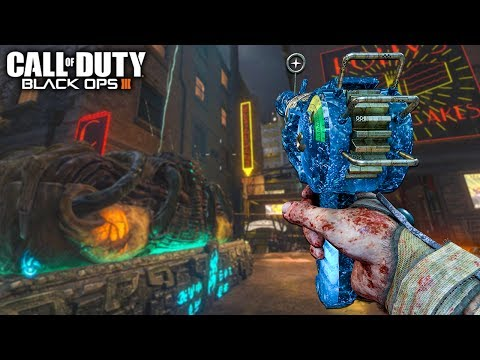 'Shadows Of Evil' BO1 WEAPONS IN THE BOSS FIGHT!? PHD TOO!? (Call of Duty Black Ops 3 Zombies)