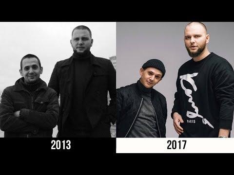 КАК МЕНЯЛИСЬ КЛИПЫ КАСПИЙСКОГО ГРУЗА   2013-2017