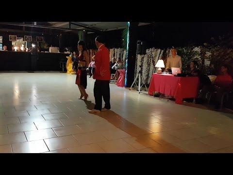 Jean Charles Ethève & Sonja Bozilovic Demo 1 Milonga Florida LeuTangoWeek 2016