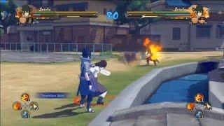 naruto ultimate ninja storm 4 neji vs naruto sasuke vs sasuke   japan expo gameplay 3
