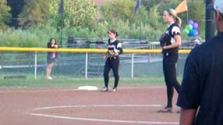 Jennie Finch Pitching for the Chicago Bandits!