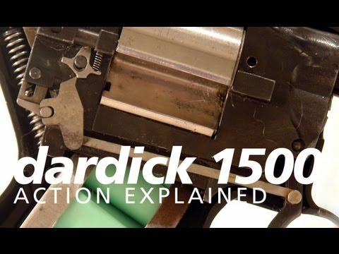 A quick look inside the Dardick Model 1500 pistol