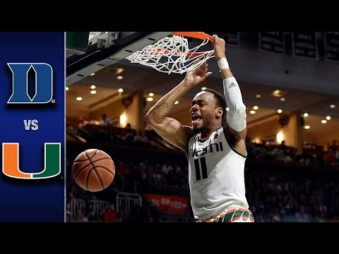 Duke vs. Miami Men