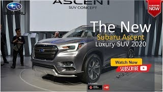 The Best New 2020 Subaru Ascent Suv Luxury Sport All New Car
