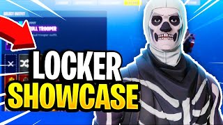 My Fortnite Locker Showcase! - RARE SKINS, GLIDERS & PICKAXES (Fortnite Battle Royale)