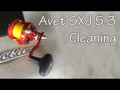 Avet SXJ 5 3 disassembly, clean and reassembly - YouTube