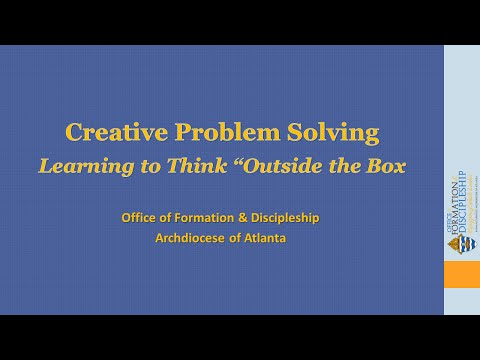 Creative Problem Solving Techniques—Learning to Think Outsid