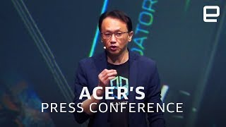 Acer's IFA 2019 press conference in 10 minutes