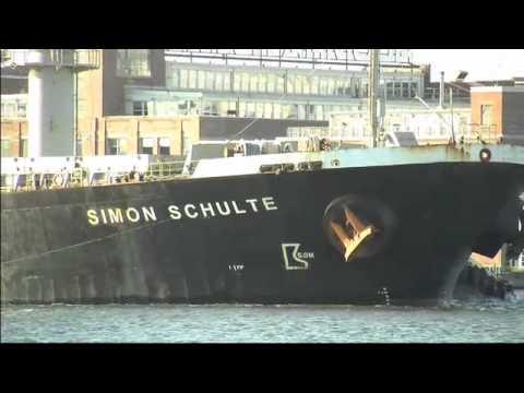 M/V Simon Schulte makes record sugar delivery to Domino 4-9-12