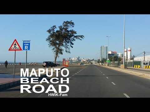 MAPUTO BEACH ROAD  BAIA MALL to CFM MAPUTO Avenida da Marginal (2)