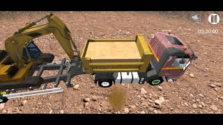 Sand Excavator Simulator 2021: Truck Driving Games screenshot 3