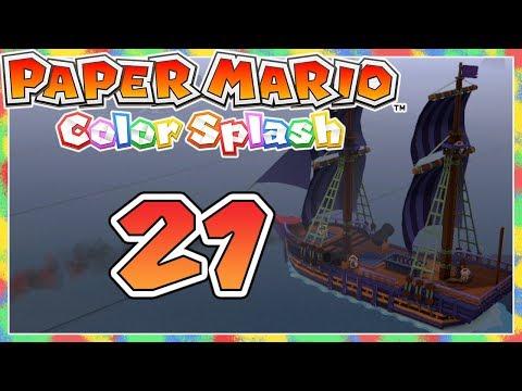AUF IN DIE IRRSEE | Paper Mario Color Splash #21