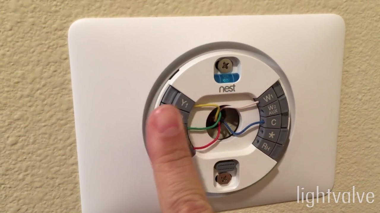 Wiring For Nest Thermostat