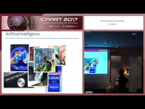"""Efficient Reasoning with Rules and Ontologies"" Prof. João Leite (ICAART 2017)"
