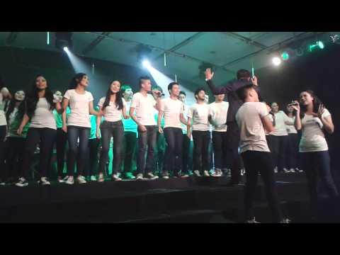 Glee-Lean on me by LSPR CHOIR Jakarta