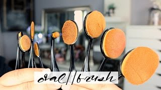 GIMMICK or GREAT ? Oval Makeup Brushes | MEI