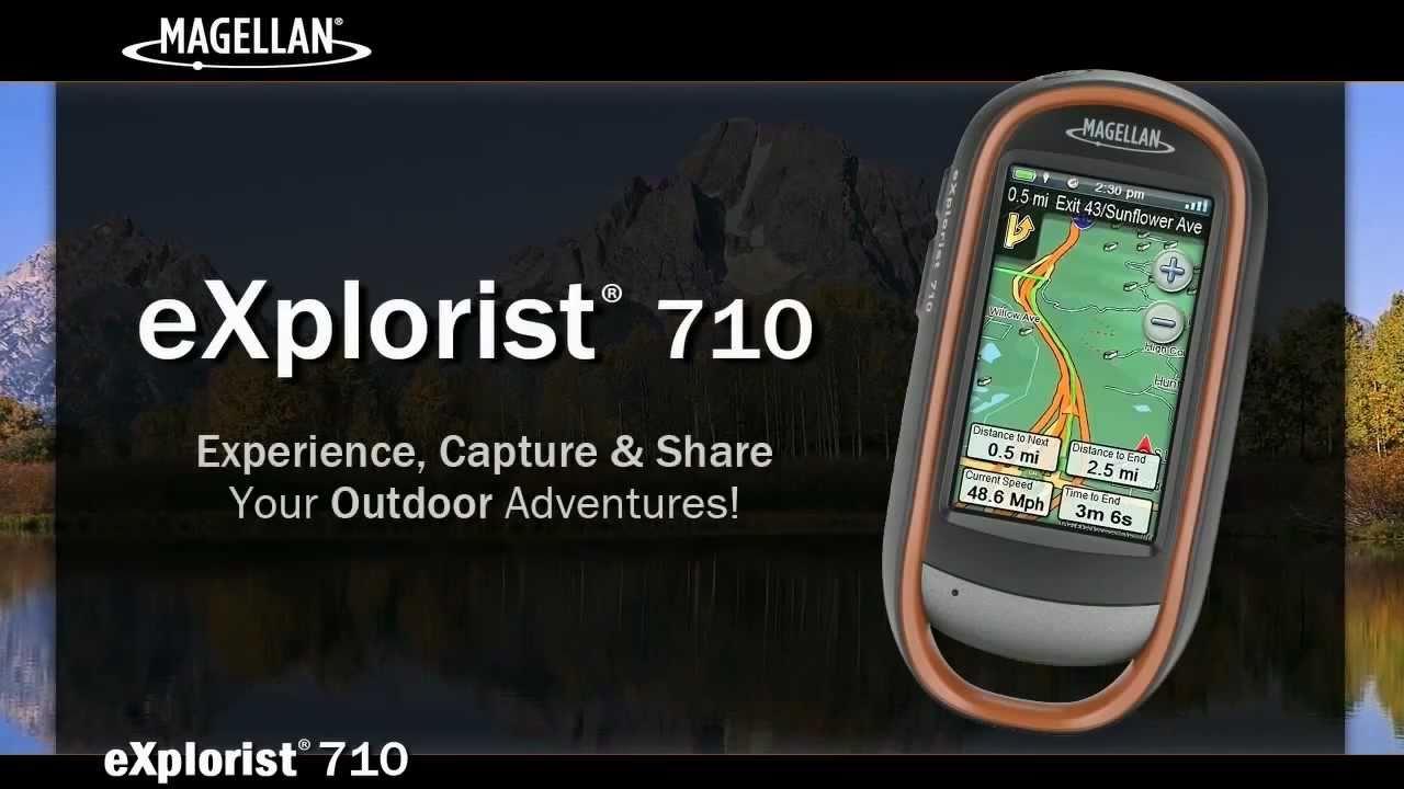 descripci n en espa ol del gps magellan explorist 710 youtube rh youtube com Garmin GPS Manual Magellan GPS Updates Maps