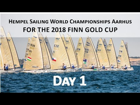 Highlights from Day 1 of the 2018 Finn Gold Cup in Aarhus
