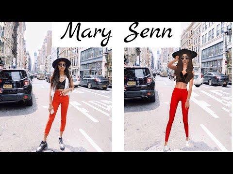 THE SIMS 4: МЕРИ СЕНН (Mary Senn)