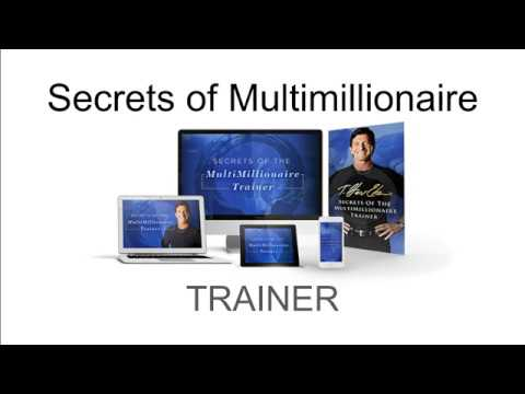 Secrets of MultiMillionaire Trainer Online Course for Entrepreneurs to Be a Highly Successful Mentor thumbnail