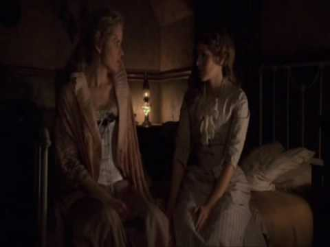 Kim Dickens & Kristen Bell  Deadwood