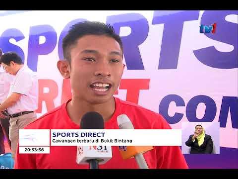 SPORTS DIRECT - CAWANGAN BAHARU DI BUKIT BINTANG [20 OKT 2017]