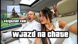 Polski milioner na Tajlandii Krzysiek Król I Wjazd na chate