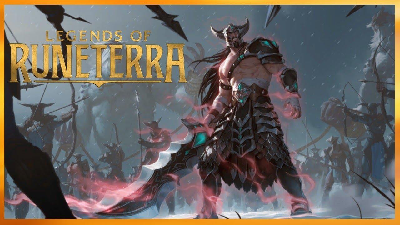 Hasil gambar untuk Tryndamere legends of runeterra