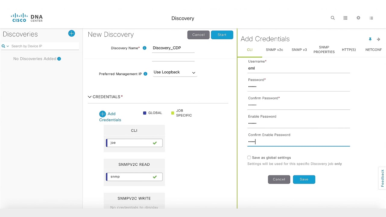 How-To: Device Discovery on Cisco DNA Center using CDP