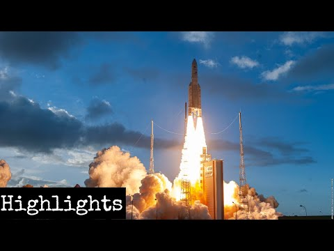 Arianespace Launches Ariane 5 Rocket Carrying 2 Communication Satellite
