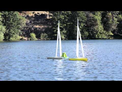 IOM - RC Sailboat Ska -International One Metre