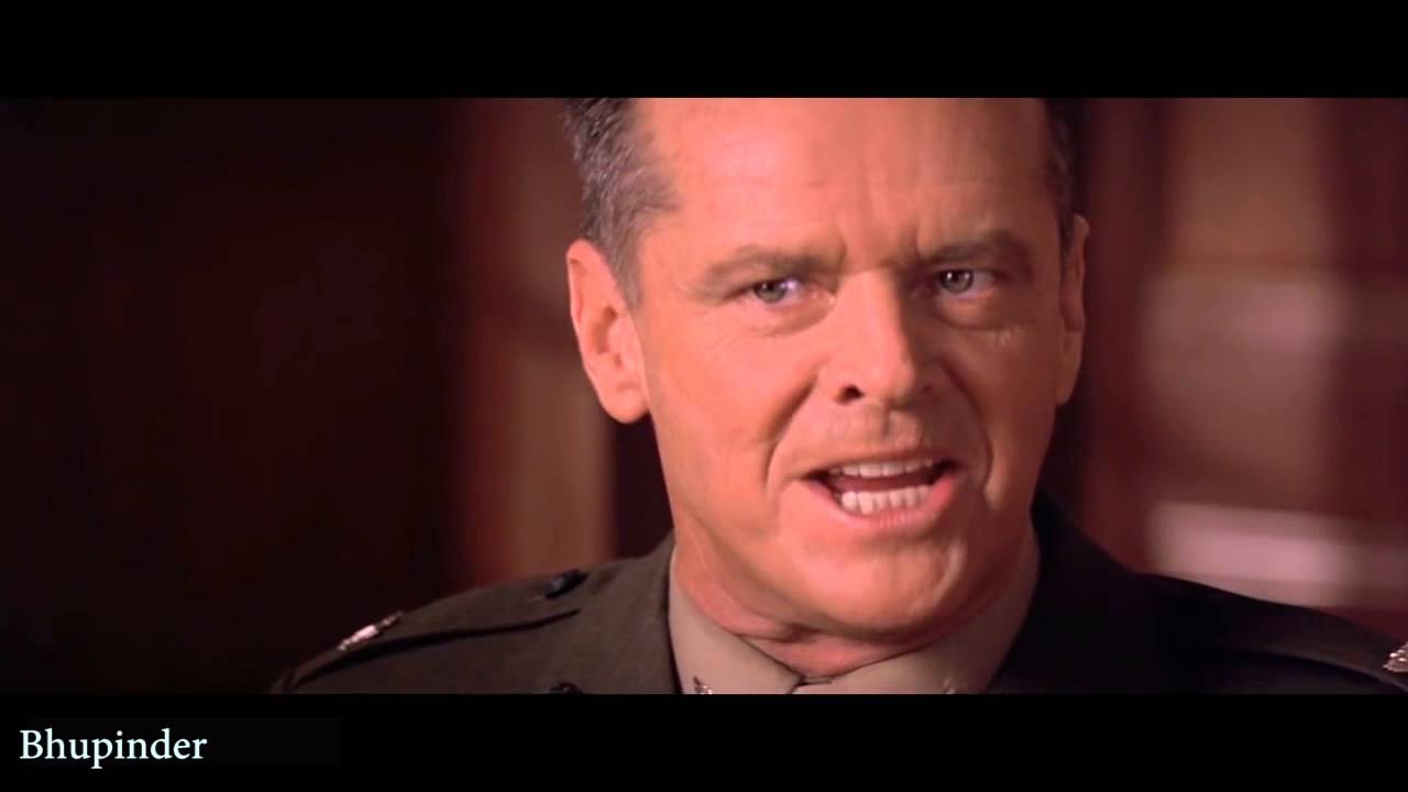You Cant Handle The Truth A Few Good Men With Subtitles Youtube