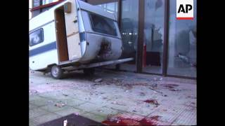 Bosnia - Explosion in Banja Luka