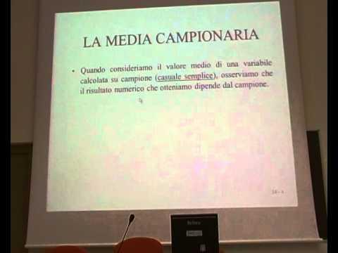 13A - Distr BInomiale e  Media CAMPIONARIA