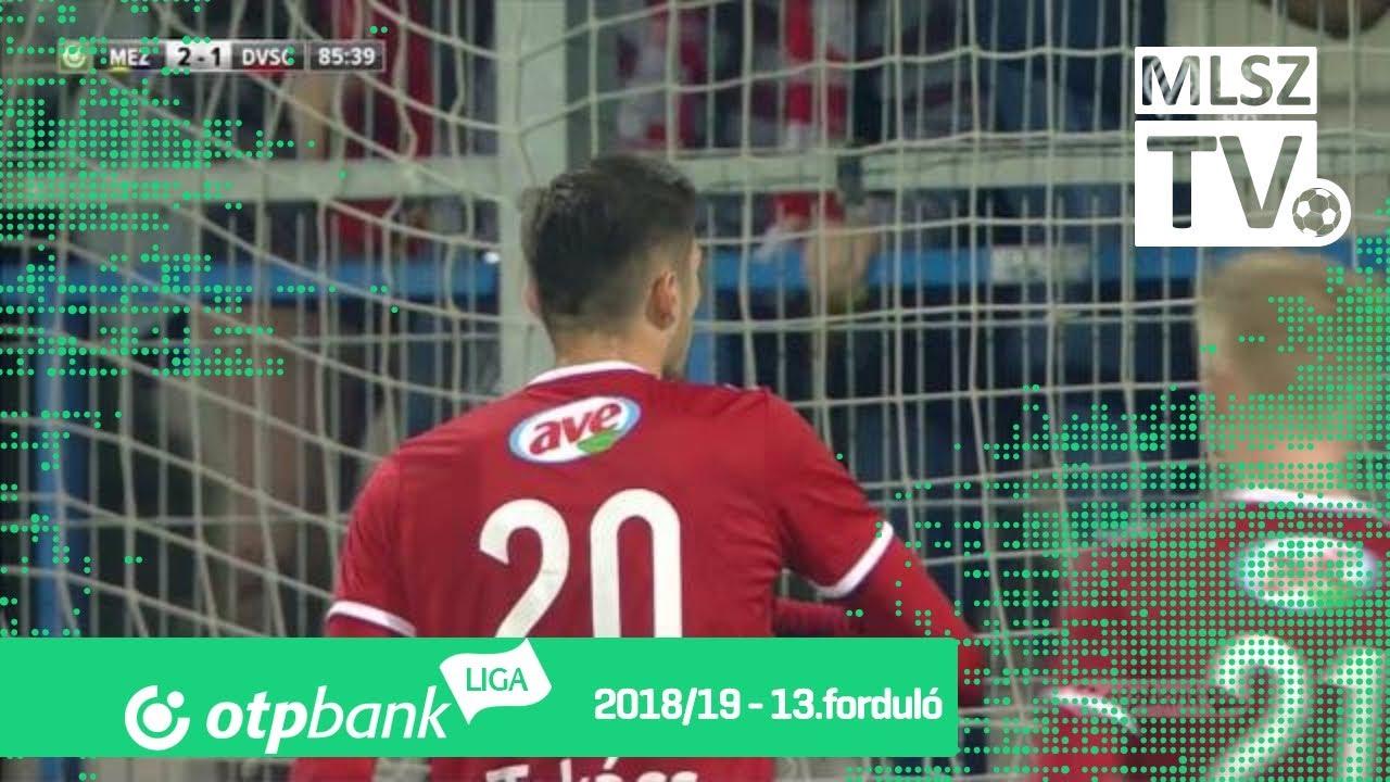 Takács Tamás gólja a Mezőkövesd Zsóry FC - DVSC mérkőzésen