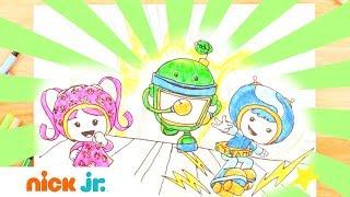 Рисуем с Nick Jr   Умизуми   Nick Jr. Россия