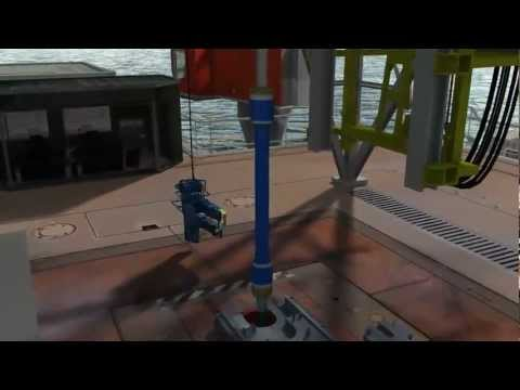 3D Offshore Drilling Animation | Mako Tools | Animation by Industrial3D